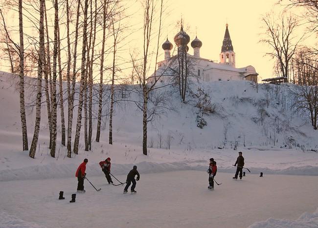 Ярославль зимнее фото