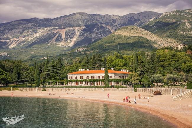 Пляж Милочер Черногория