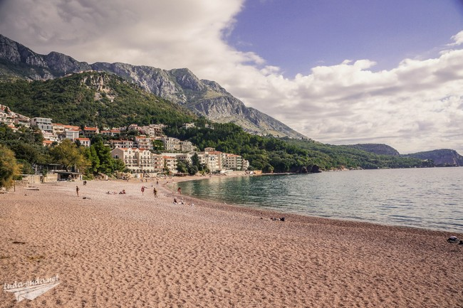 Пляж в Свети-Стефан