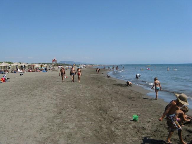 Великий пляж Черногория