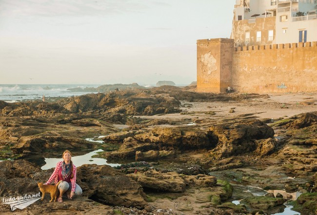 Essaouira walls