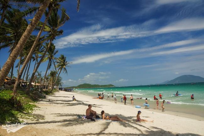 Пляж Док Лет Вьетнам