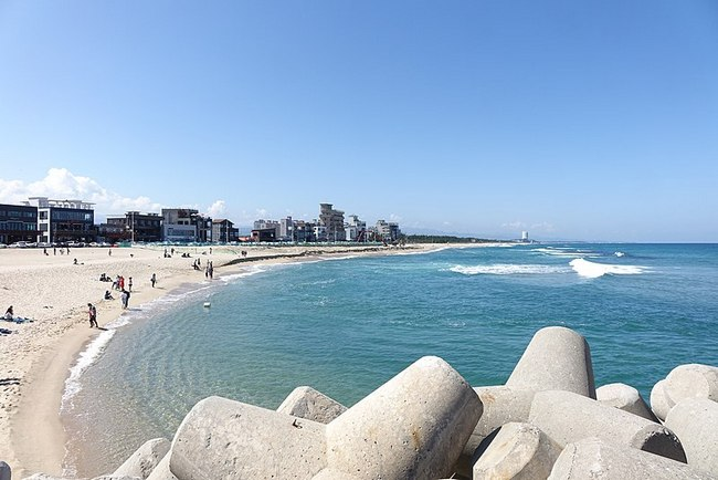 Каннын пляж