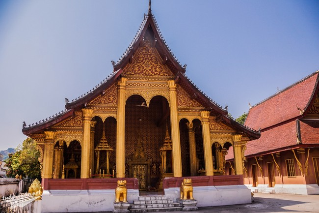 Храм в Луанг Прабанге