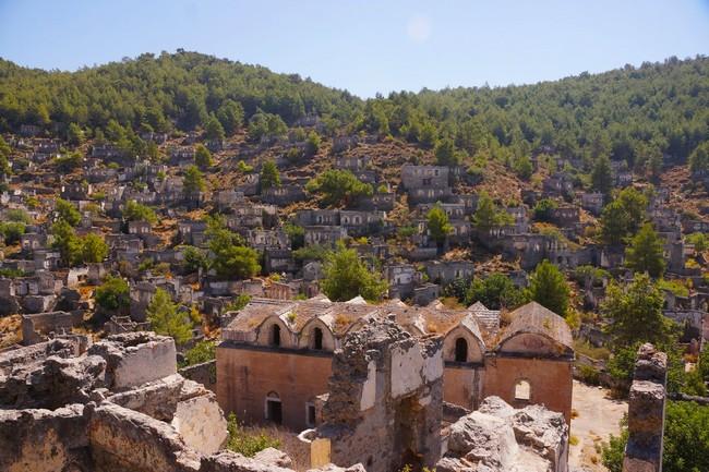 Город Каякёй Турция