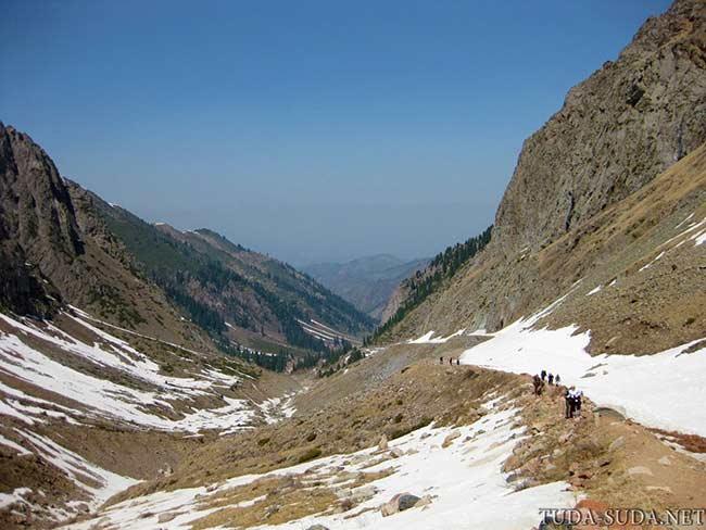 Долина Малая Алматинка