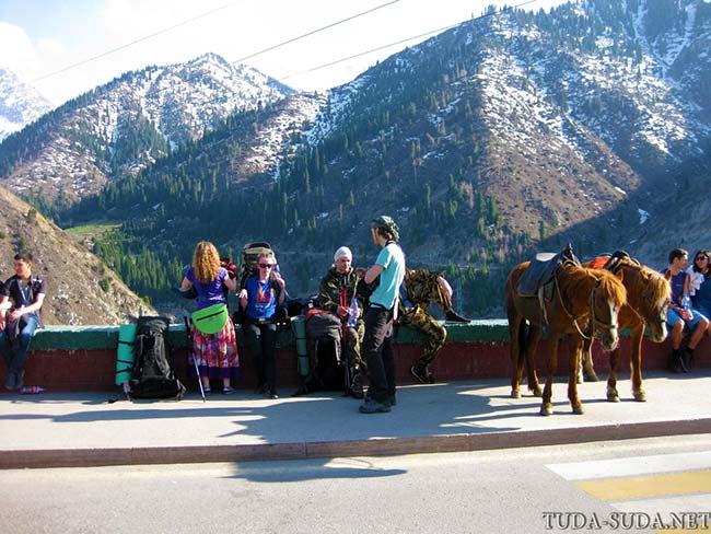 Горы Алматы фото