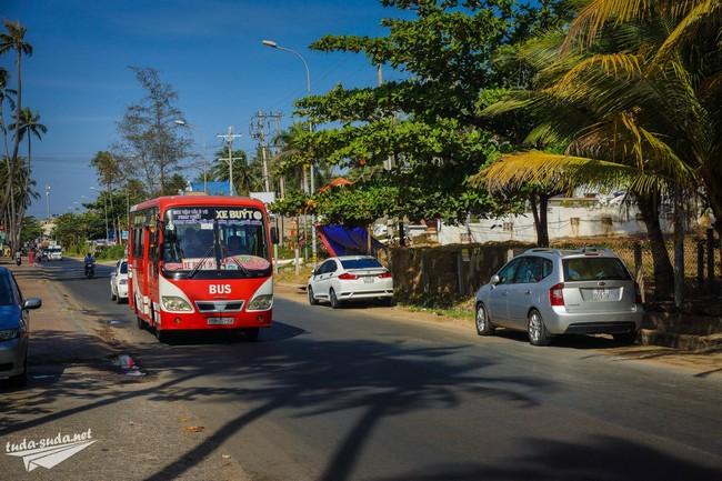 Автобус №9 в Муйне