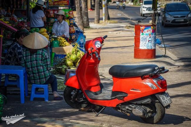 аренда байка Муйне Вьетнам