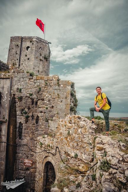 Крепость Розафа в Шкодере