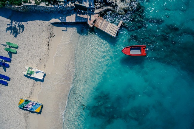 Албания пляж