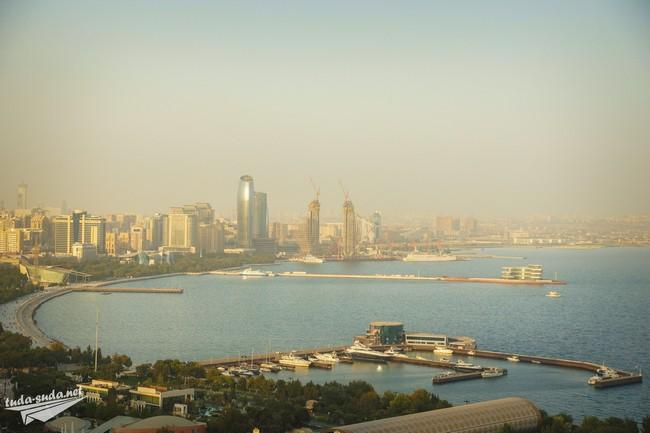 Баку панорама фото