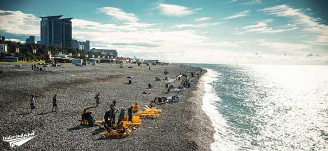 5 пляжей Батуми фото инфраструктура и полезные советы