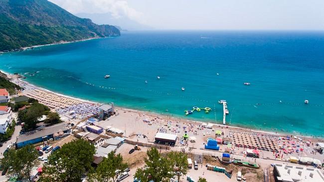 Пляж Яз Черногория