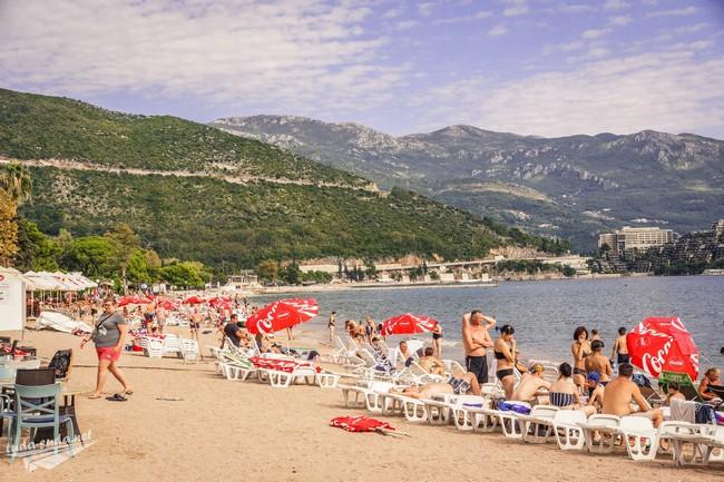 Словенский пляж Будва