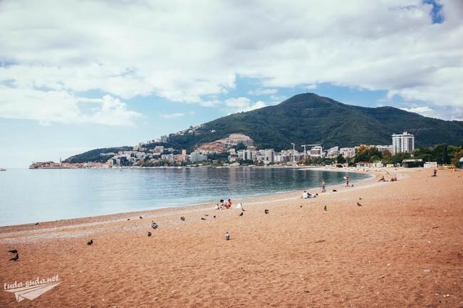 Центральный пляж Будва