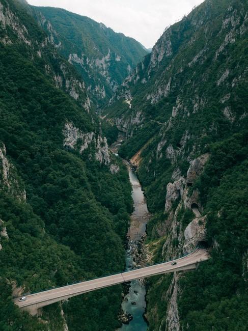 Каньон реки Пива Черногория