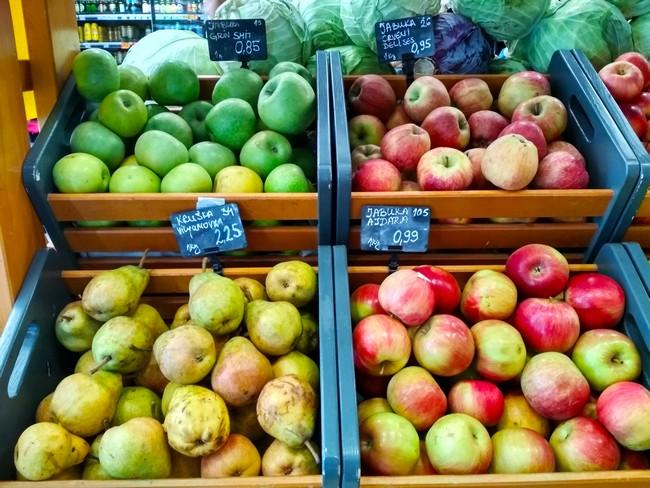 отдых в Черногории цены на продукты