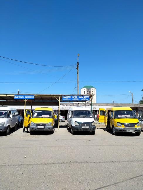 Автостанция в Дербенте