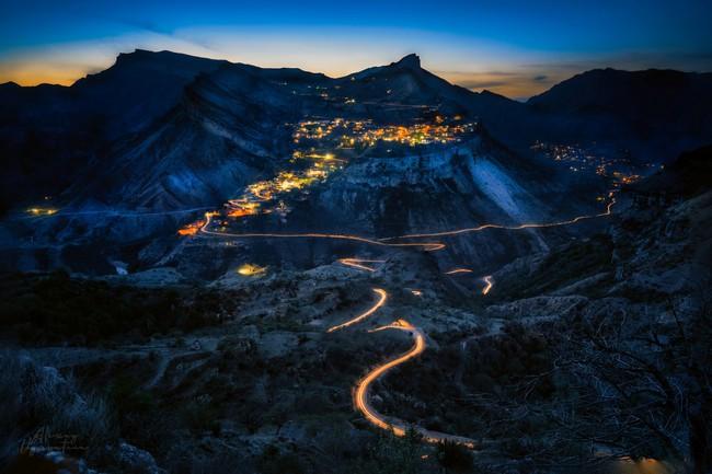 Дагестан горы ночью фото