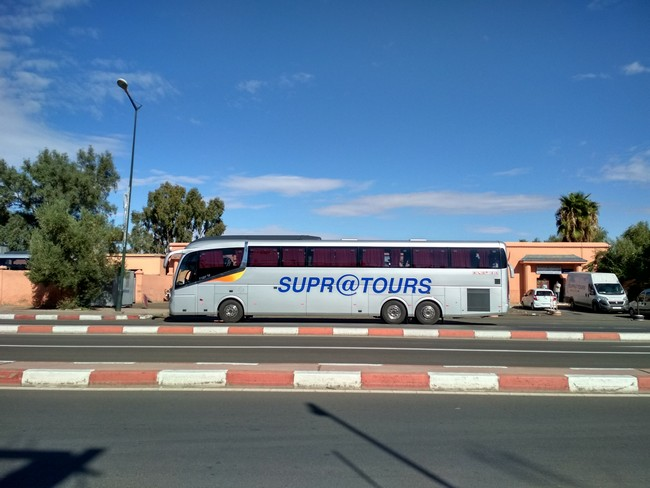 Автобус в Марокко