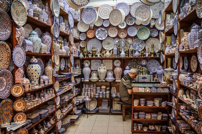 посуда марокко