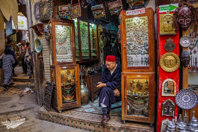 рынок фес марокко