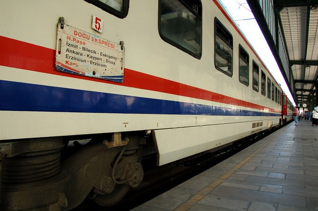 поезд турция
