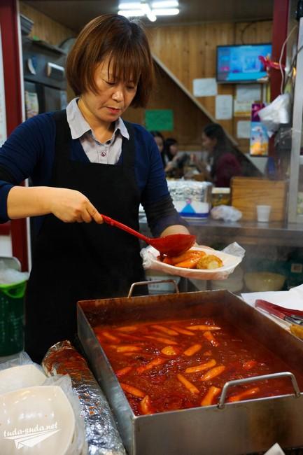 еда Южная Корея