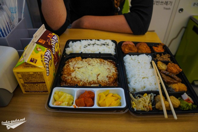 Еда супермаркет Южная Корея