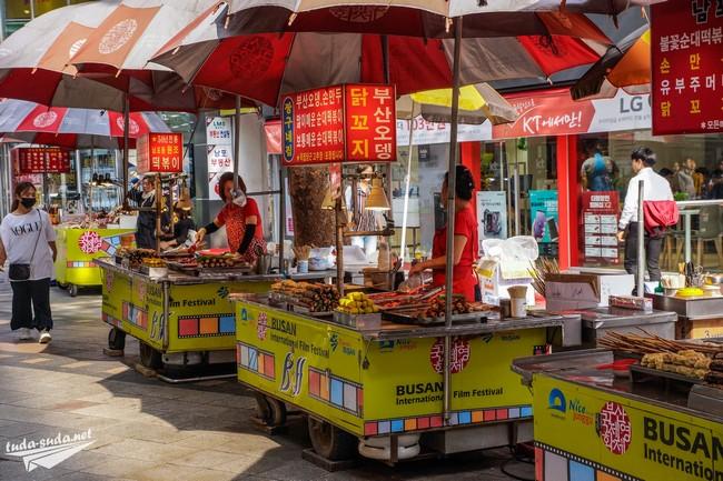 Уличная еда в Южной Корее