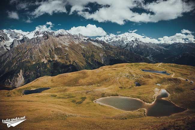 Горы Сванетия
