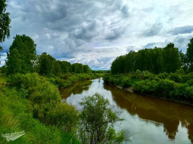река Нижняя Тунгуска Омская область