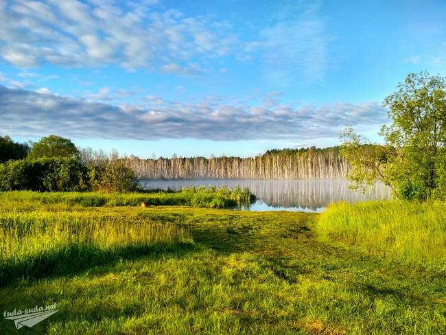 Озеро Щучье Муромцевский район