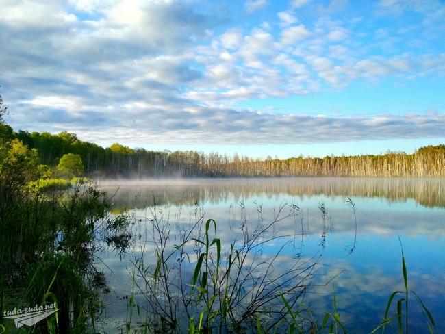 Озеро Щучье Омск