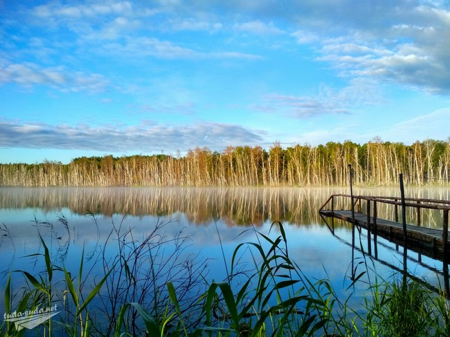 Озеро Щучье Муромцево