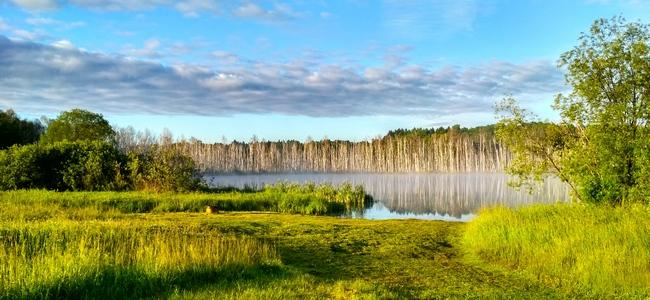 Озеро Щучье Омская область