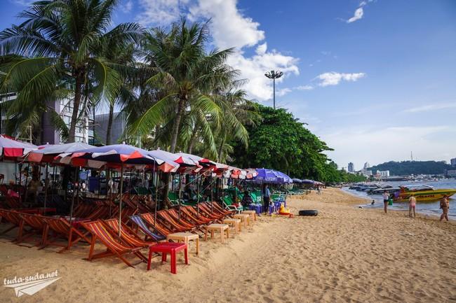 пляж Паттайя центр