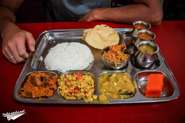 Индийская еда на острове Пенанг