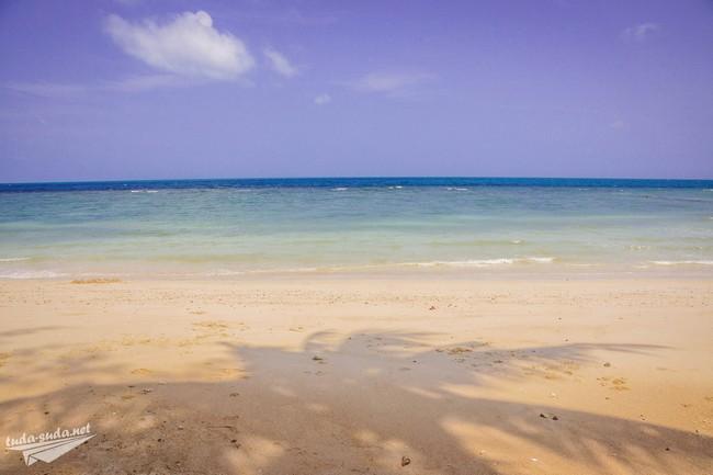 Остров Панган море