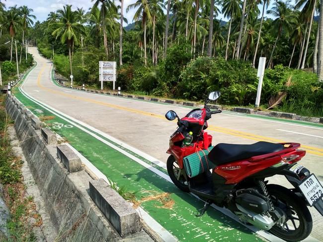 Дороги на Пангане