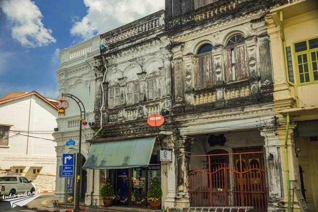 old city phuket town