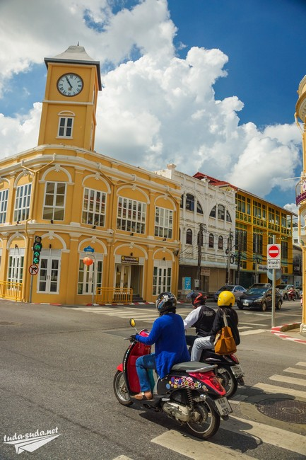 Clock Tower Phuket town