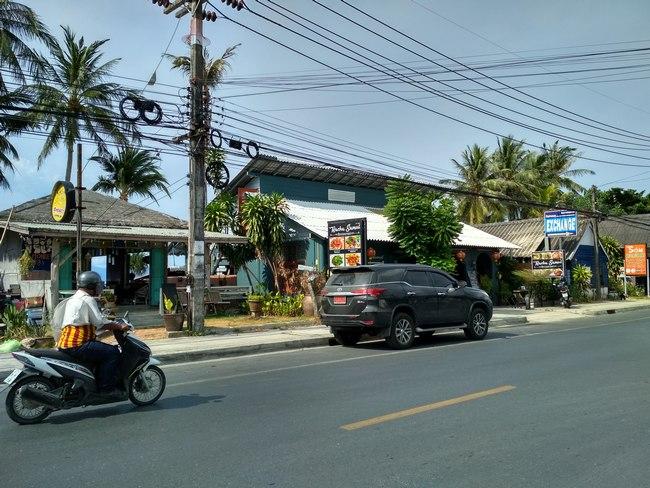 Район Банг По остров Самуи