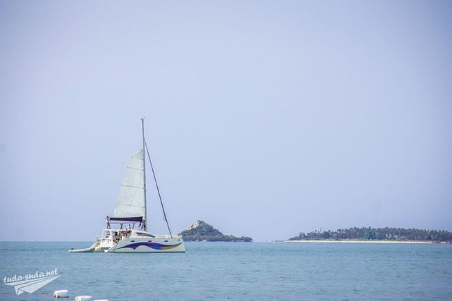 катамаран море