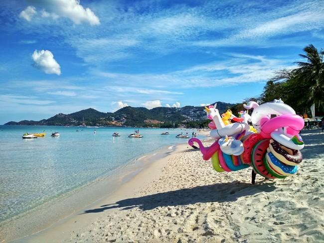 отдых на пляже Чавенг