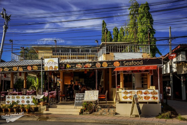 Кафе в районе Чонг Мон
