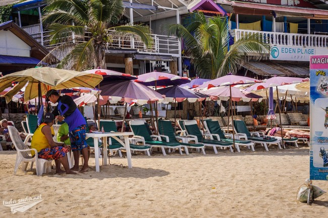 Отдых на пляже Ламаи