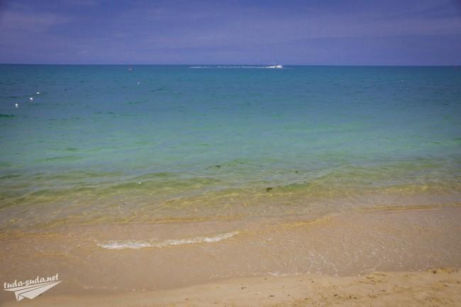 Пляж Ламаи море