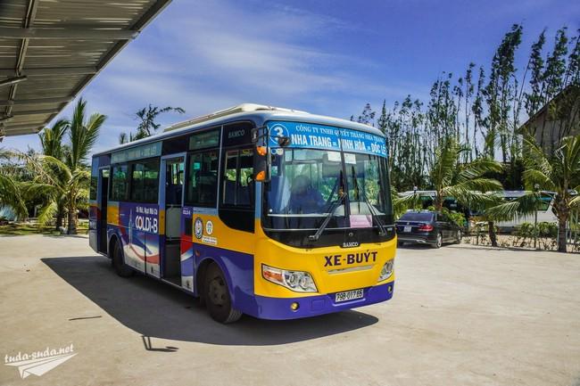 Автобус на пляж Зоклет из Нячанга